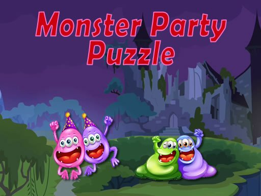 Play Monster Party Puzzle Game