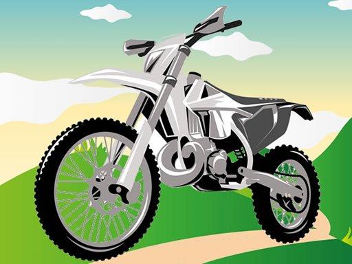 Play Super Fast Motorbikes Jigsaw Game