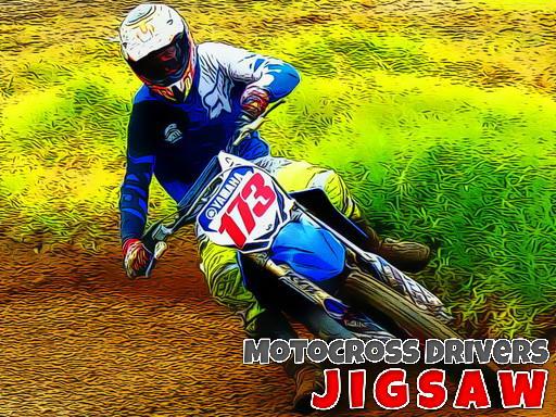 Play Motocross Drivers Jigsaw Game