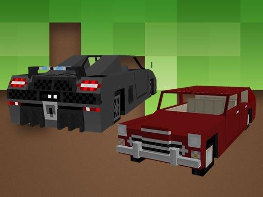 Play Minecraft Cars Jigsaw Game