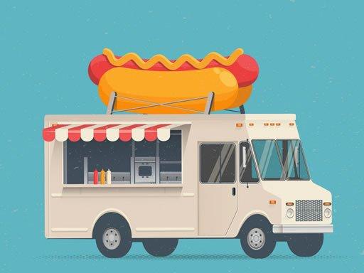 Play Food Trucks Jigsaw Game