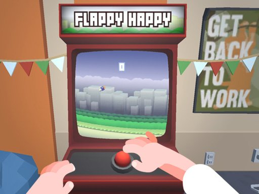 Play Flappy Happy Arcade Game