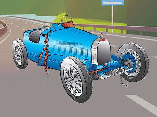 Play Vintage Cool Cars Memory Game