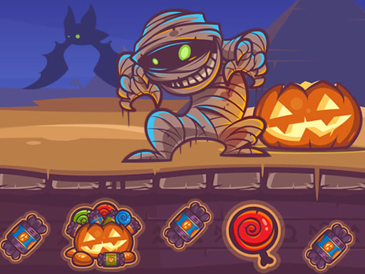 Play Mummy Candy Treasure Game