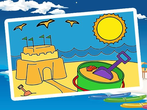 Play Summer Coloring Game