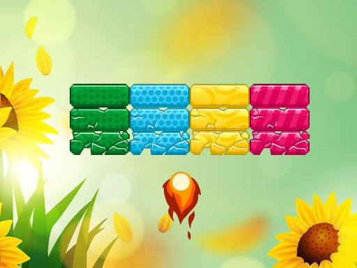Play Summer Brick Out Game