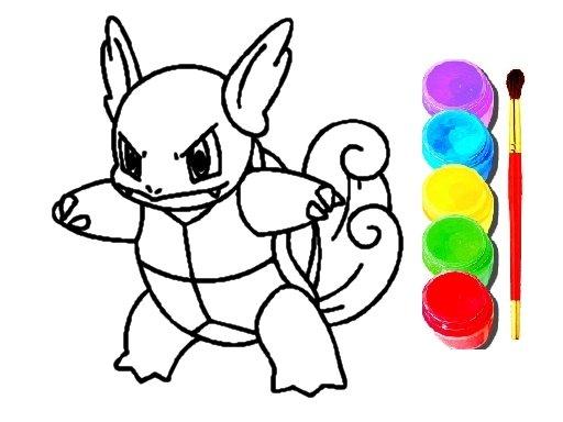 Play Pokemon Coloring Game