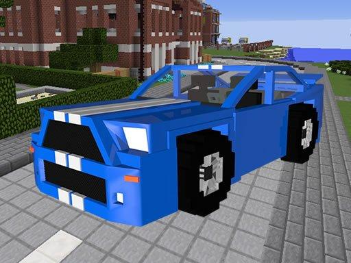 Play Minecraft Cars Hidden Keys Game