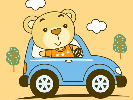 Play Little Cute Vehicles Match 3 Game