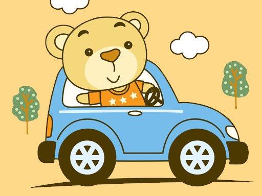 Play Cute Animal Ride Match 3 Game