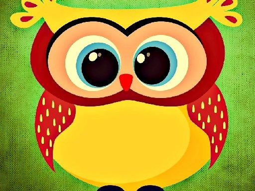 Play Funny Owls Jigsaw Game