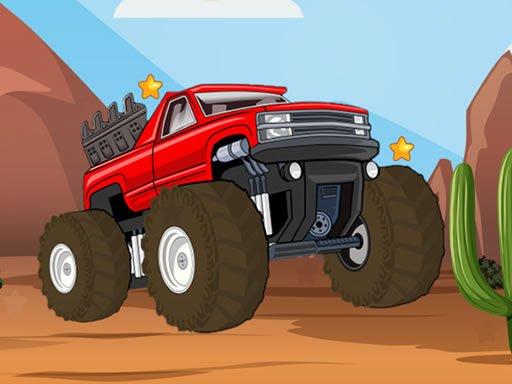 Play Monster Truck Hidden Stars Game