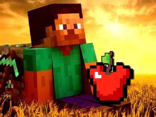Play Minecraft Apple Shooter Game