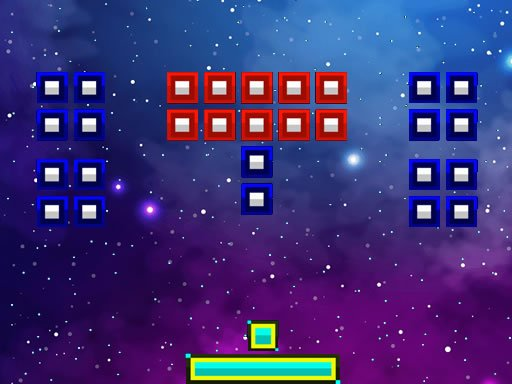 Play Space Brickout Game