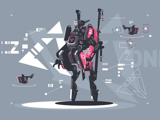 Play Alien Robot Warrior Hidden Game