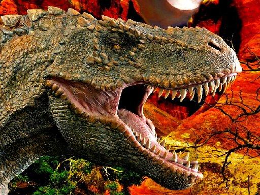 Play T-Rex Dinosaur Jigsaw Game