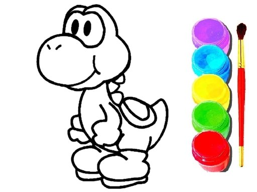 Play Mario Coloring Game