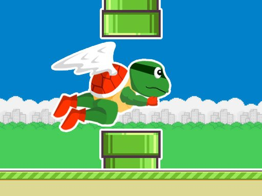 Play Flappy Turtle Game