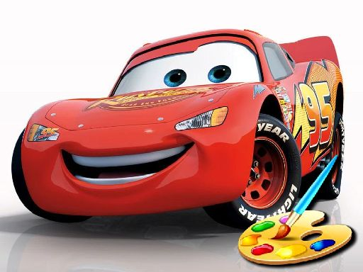 Play Disney Cars Coloring Game