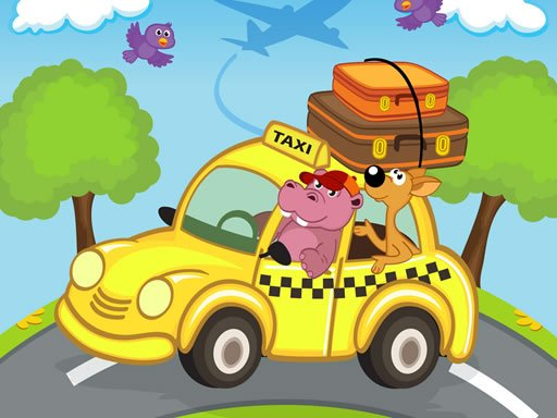Play Animal Cars Match 3 Game