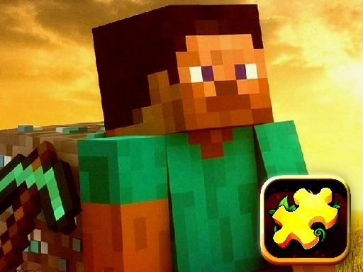 Play Minecraft Puzzle Time Game