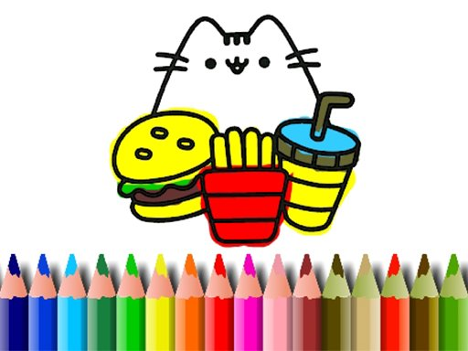 Play BTS Cute Cats Coloring Game