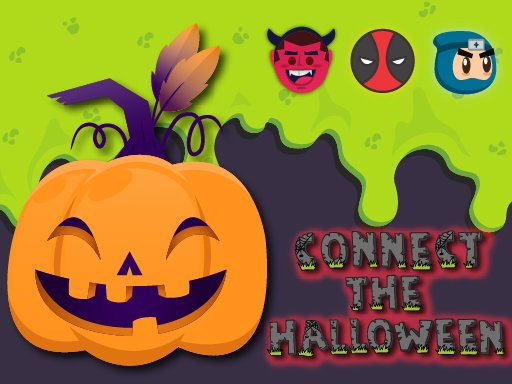 Play Connect The Halloween Game