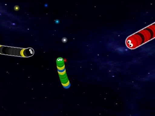 Play Galactic Snakes io Game