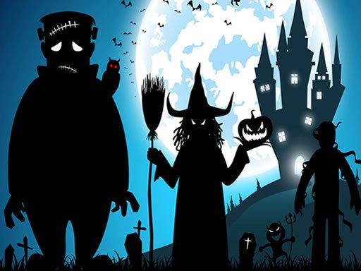 Play Crazy Halloween Memory Game