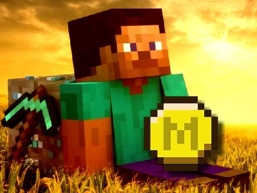 Play Minecraft Coin Adventure Game