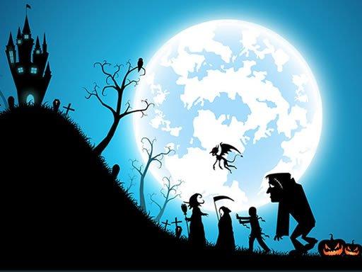 Play Happy Halloween Jigsaw Game