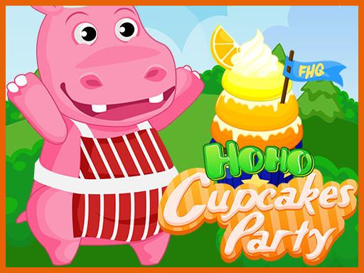 Play Hoho's Cupcake Party Game