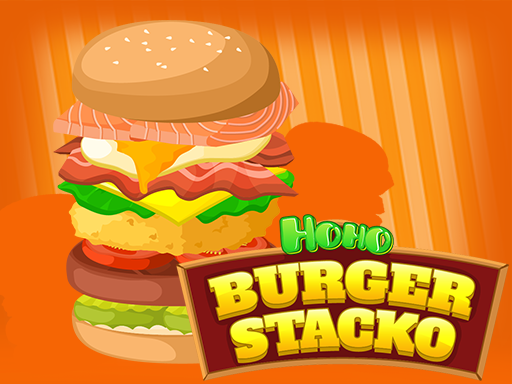 Play Hoho's Burger Stacko Game