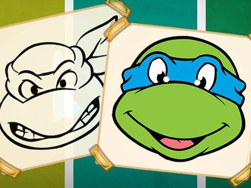 Play Ninja Turtles Coloring Game