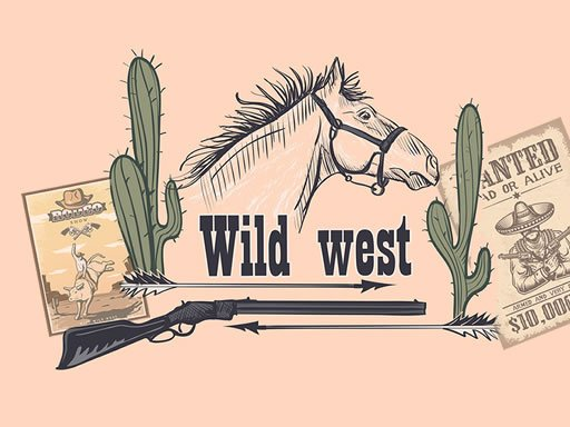 Play Wild Wild West Memory Game