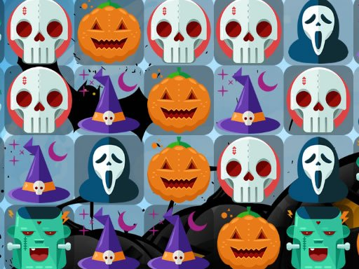 Play Scary Halloween Match 3 Game