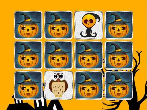 Play Kids Memory: Halloween Game