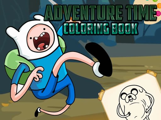 Play Adventure Time Coloring Game