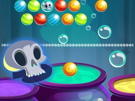 Play Bubble Shooter Halloween Game