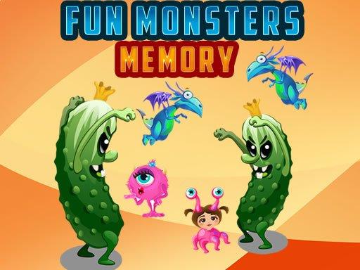 Play Fun Monsters Memory Game