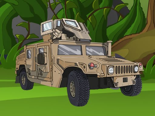 Play Army Vehicles Memory Game