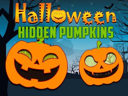 Play Halloween Hidden Pumpkins Game