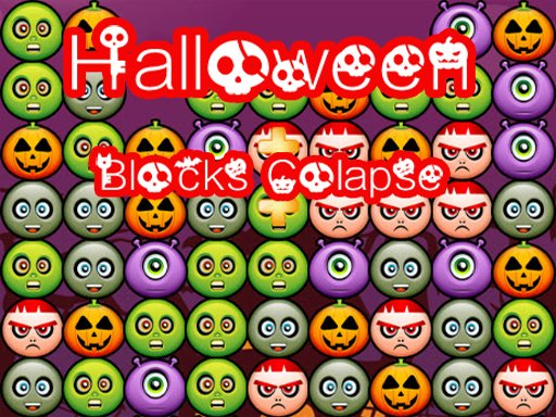 Play Halloween Block Collapse Delux Game