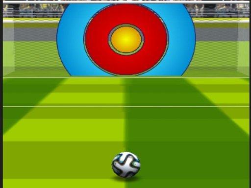 Play Simple Football Kicking Game