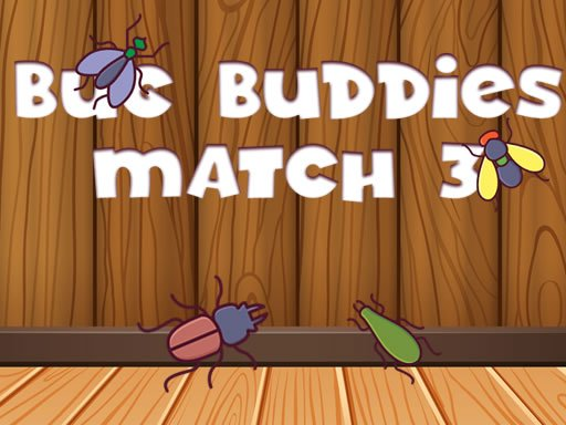 Play Bug Buddies Match 3 Game