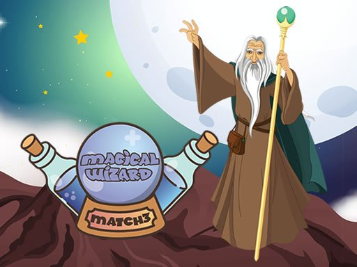Play Magical Wizard Match 3 Game
