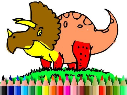 Play BTS Dinosaur Coloring Game