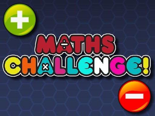 Play Maths Challenge Game