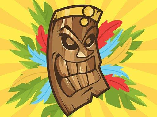 Play Scary Tiki Mask Memory Game