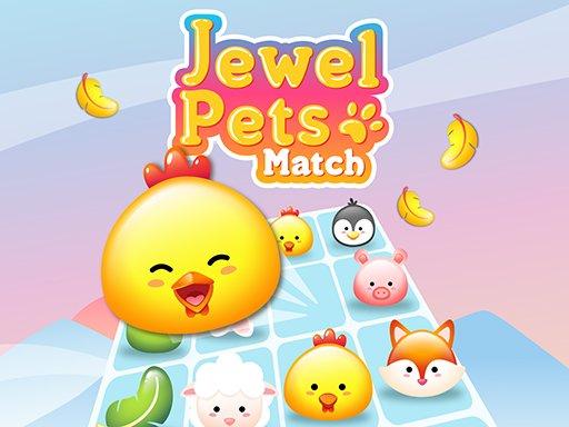 Play Jewel Pets Match Game